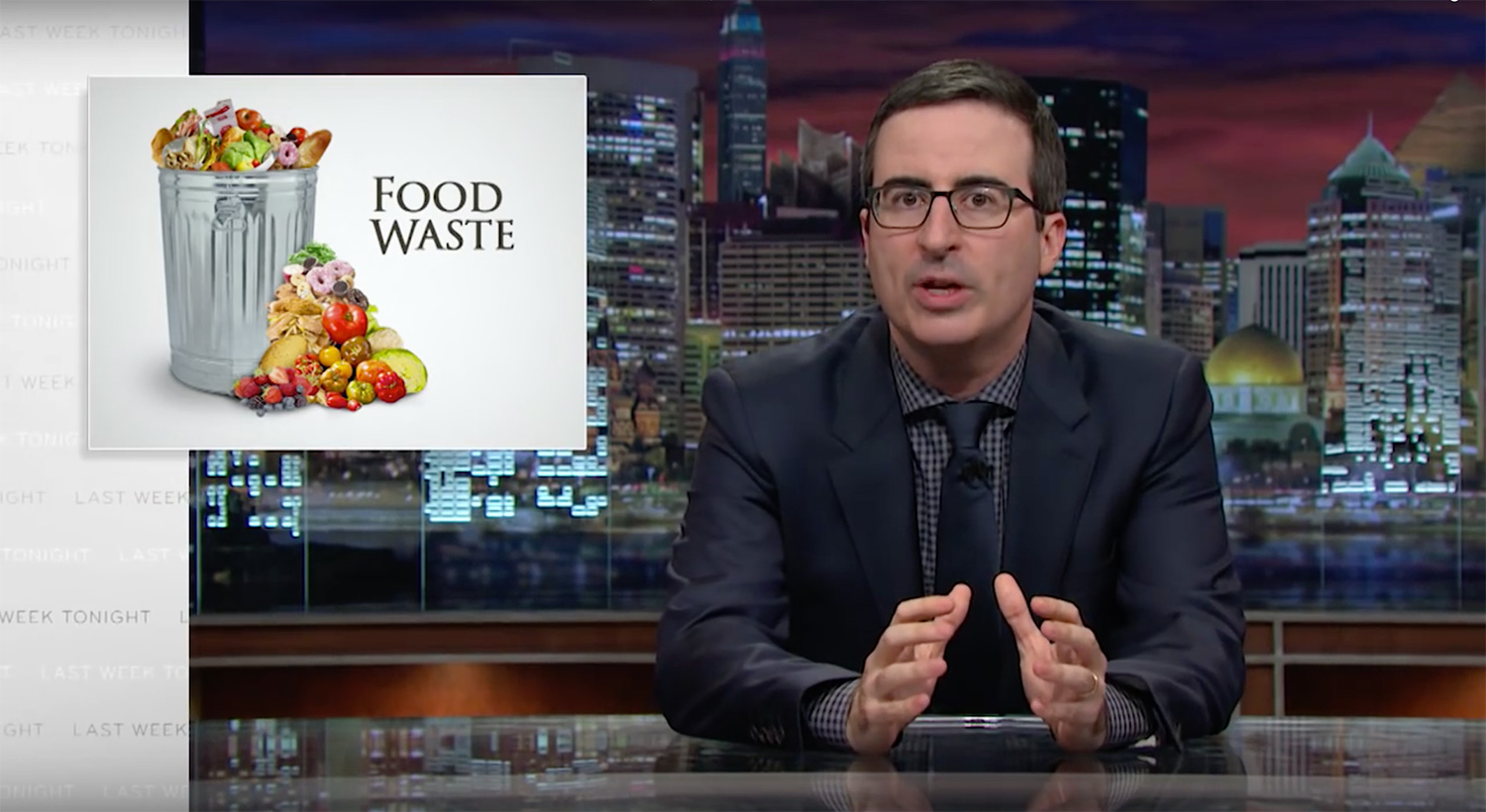 Last Week Tonight With John Oliver: Food Waste