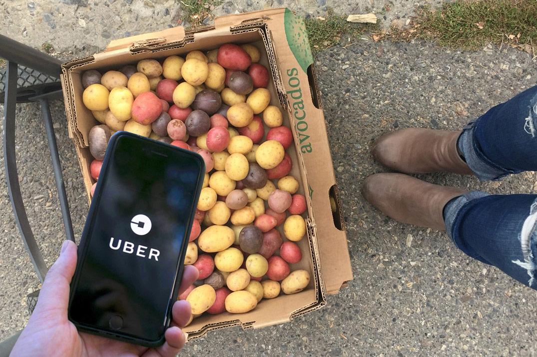 Uber + Leftovers = Giving Back To The Community