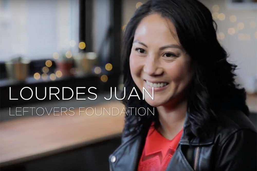 Lourdes Juan From The Leftovers Foundation In Calgary