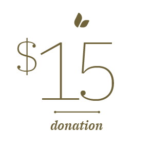 $15 Donation Stat