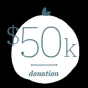50K Donation