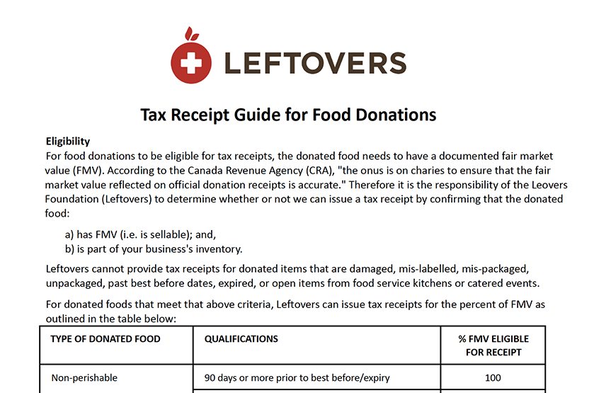 Tax Receipt Guide Preview Image
